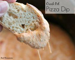 Crock Pot Pizza Casserole #BacktoSchoolWeek