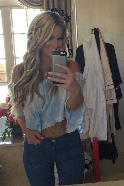 brielle biermann | Kim Zolciak's Daughter Brielle Graduates High School – Photos And ...