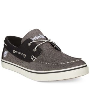 Timberland Earthkeepers Newmarket Boat Shoes - Gray 9.5