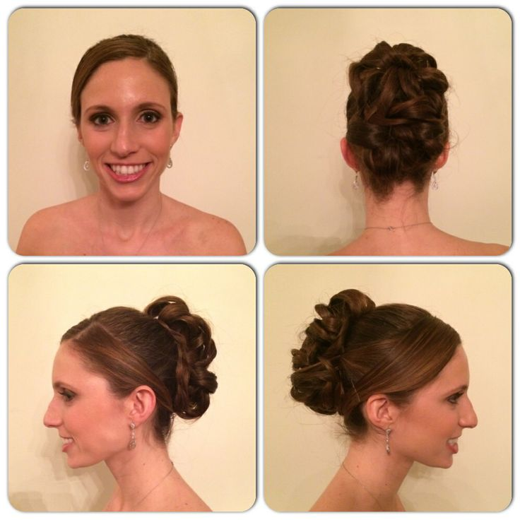 20 Best Bridesmaid Hairdos Images On Pinterest