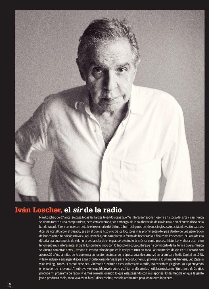 Iván Loscher: El sir de la radio / Fotografía: Mauiricio Villahermosa 13/10/2013