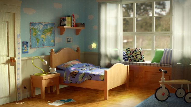 Child Cartoon  Room