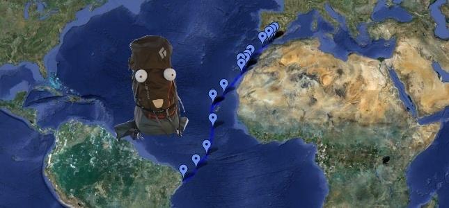Bruder Leichtfuß - Ein Rucksack auf Reisen. Low-Budget Abenteuer outdoor, per Anhalter und per Segelboot, Trekking, Camping, Hiking, Trampen