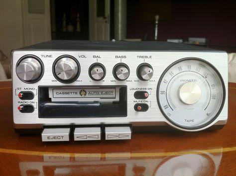 pioneer kp 500 car stereo 1976 1980s fav gadget hifi. Black Bedroom Furniture Sets. Home Design Ideas