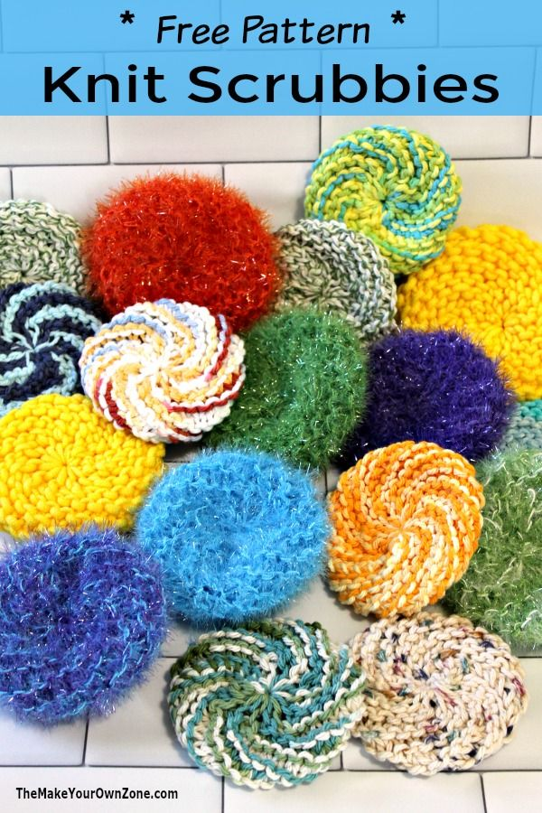 Make Spring Cleaning Fun By Making These Lovely Knitted Tea