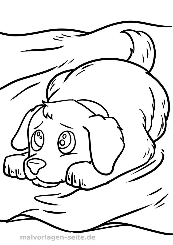 Frisch Malvorlagen Hund Malvorlage hund Malvorlagen