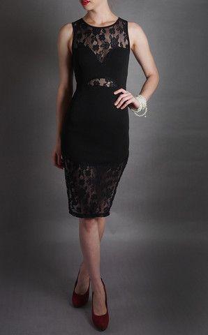 Seamless Secrets Dress in Black – 3hourdress