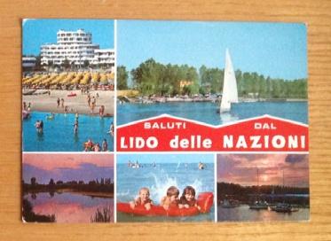 Saluti da Lido della Nazioni #postcard