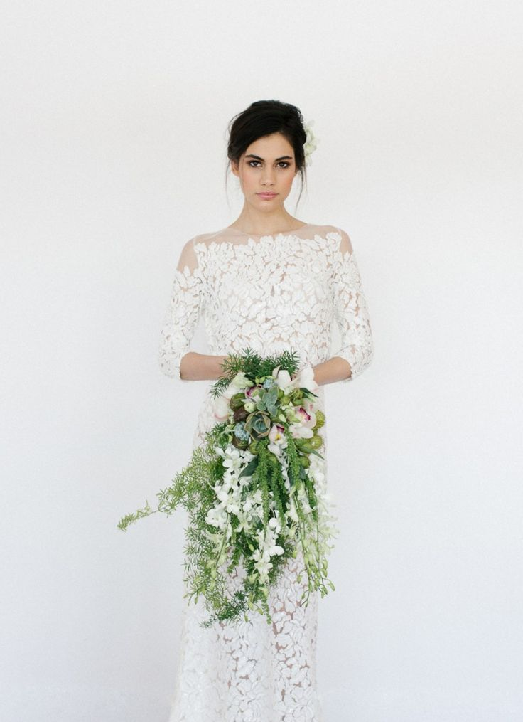 how do you feel about drapey bouquets?