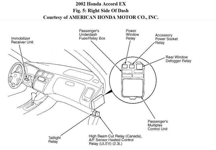 15 1997 honda accord engine wiring diagram  engine diagram