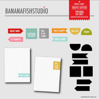 so happy that bananfish studio is making some of her products available digitally!  Been a fan of her papers.: Bananafishstudio Digital, Life Printables, Digital Scrapbooking, Simple Sayings, Digital Stamps, Life Ideas, Project Life And Inspirations, Sayings Digital, Journal Cards