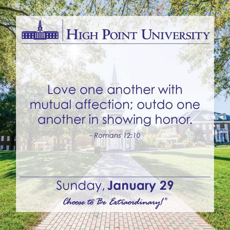 [CALENDAR] January 29, 2017 - High Point University | | High Point University | High Point, NC