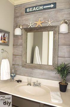 Small bathroom coastal