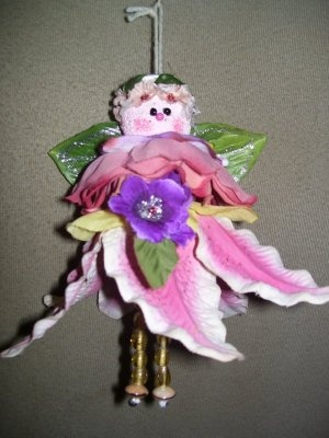 Crafts Using Huge Artificial Flowers