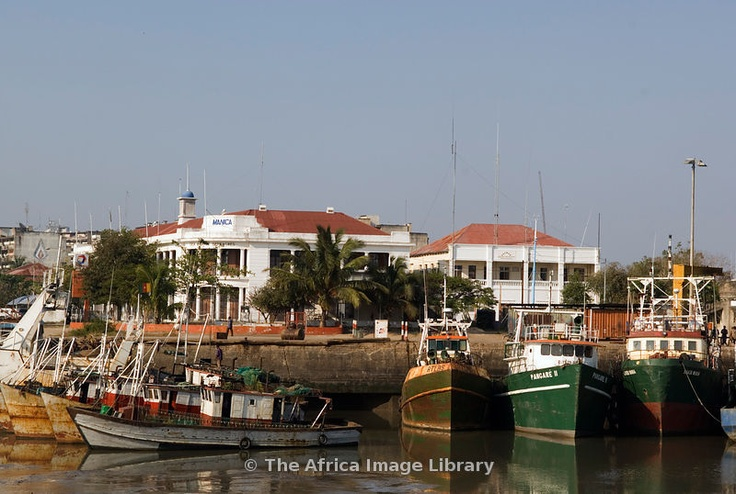 Mozambique, Beira, Harbour.  Beira is the Mozambique's most important port. 2005.