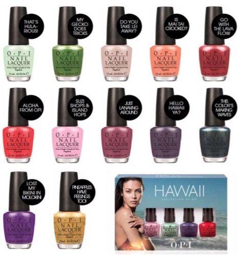 Hawaï collectie zomer 2015 van OPI. Bij Beautyvit Huidverbetering Dreef 10 4813eg Breda. www.beautyvit.nl info@beautyvit.nl of bel ons op 076-5223838