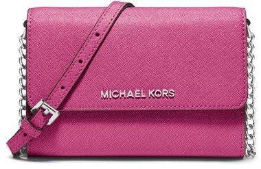 €142, Cartable en cuir fuchsia MICHAEL Michael Kors. De Nordstrom. Cliquez ici pour plus d'informations: https://lookastic.com/women/shop_items/90443/redirect
