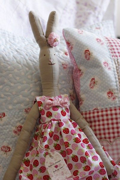 The strawberry fabric is precious'