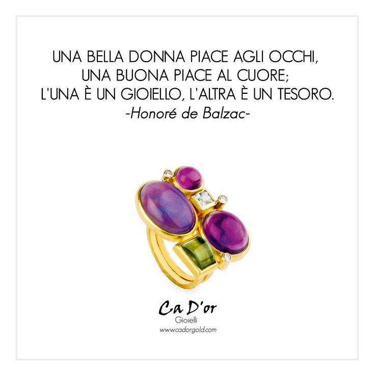 www.cadorgold.com - #Gioielli #Donna #Anelli #Jewels #Frasi #violet #viola