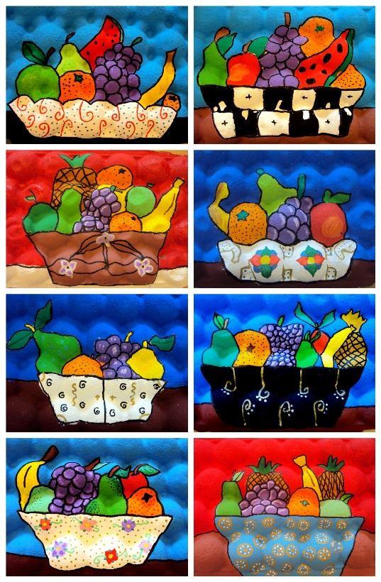 NATURA MORTA ALUMNES DE 6è Ens encanta reciclar objectes quotidians!! En aquesta ocasió, dibuixem una natura...