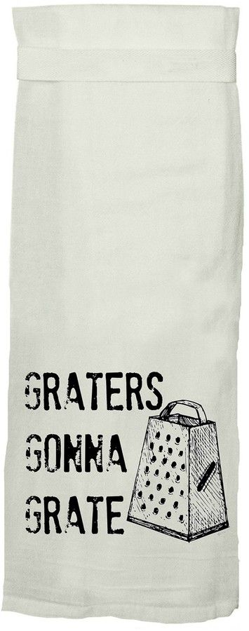 Twisted Tea Towels Graters Flour Sack Tea Towel