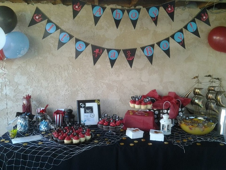 Pirate Themed Baby Shower