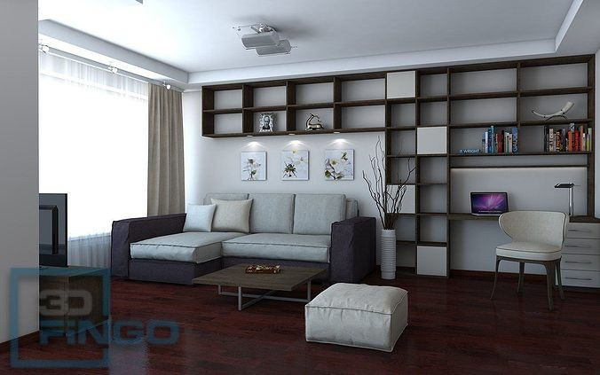 Living Room Interior Scene Living Room Room Living Room Interior
