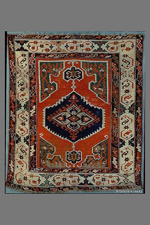 Carpet Date: 19th century Geography: Turkey, Konya Culture: Islamic Medium: Wool