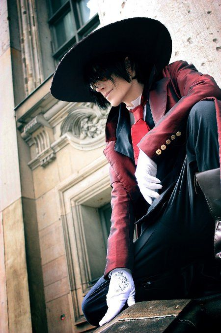 Alucard from Hellsing, this guy from deviant art I don't remember his name ;-; but he has an awesome Cosplay