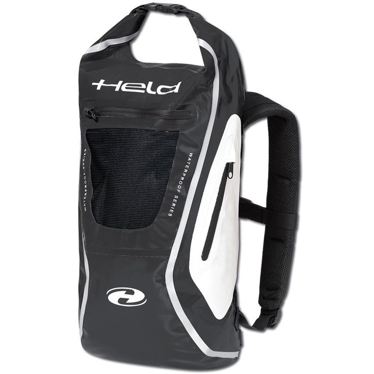 Held Zaino Waterproof Motorcycle Rucksack Black now available from PB visit  our site now to view our full range of Held motorbike backpacks today