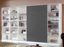 Mueble de salón 342 cm colores blanco y naval...