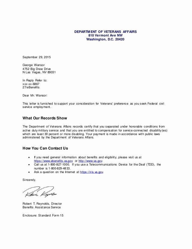 Sample Disability Letter From Physician Awesome Va Pensation Disability Letter 1 Lettering Professional Cover Letter Template Cover Letter Template Free