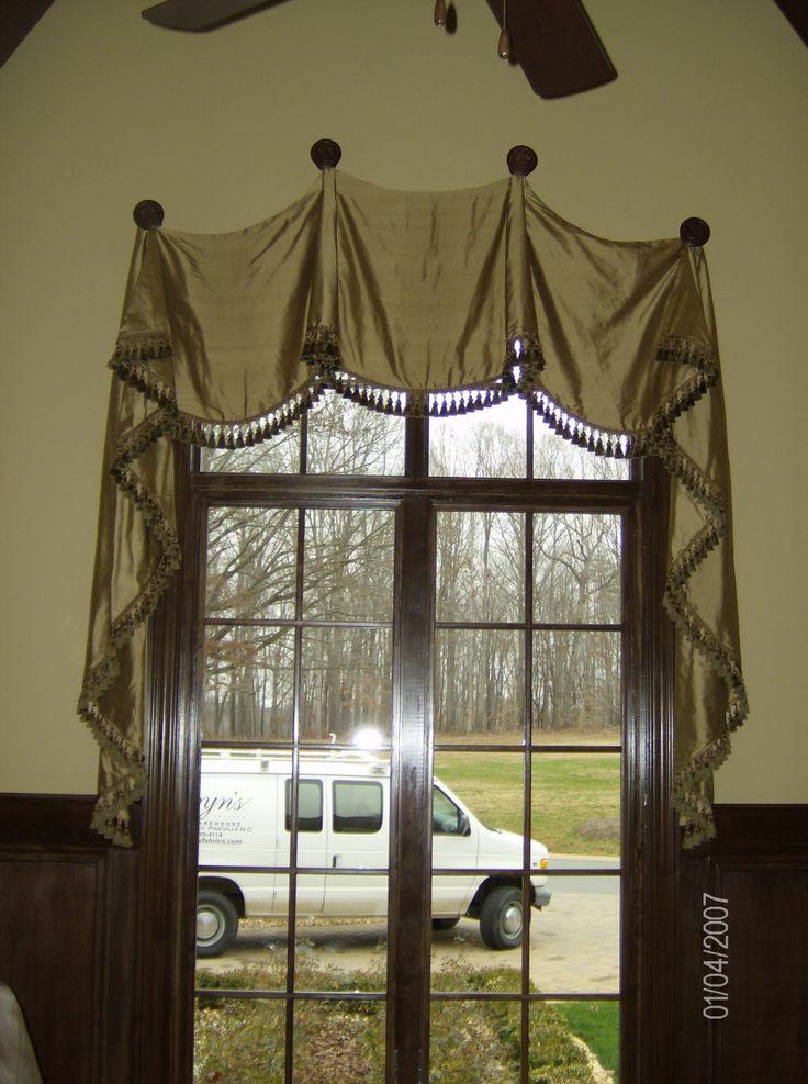 58 best images about window treatments on pinterest. Black Bedroom Furniture Sets. Home Design Ideas