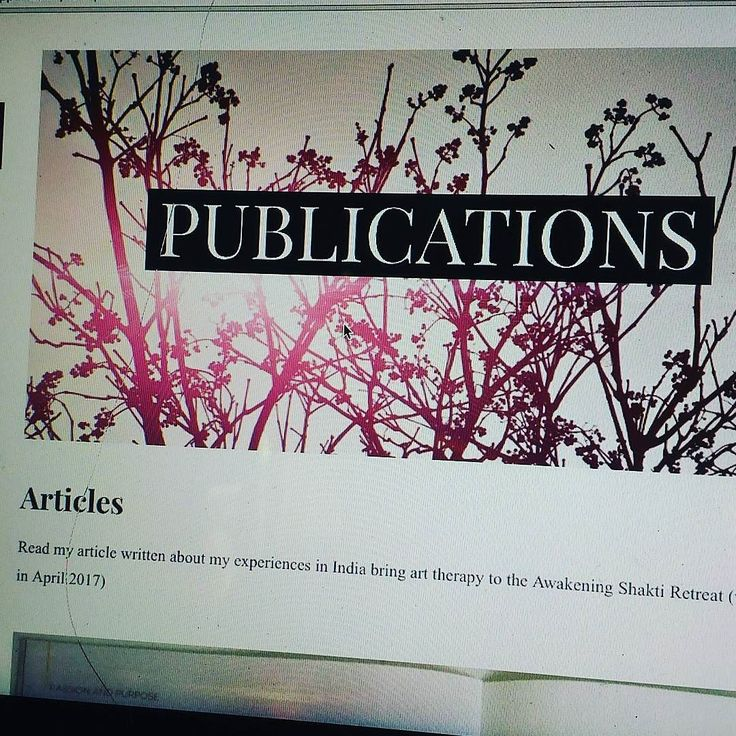 Check out a recently #published #article I wrote about my #experiences in #india bringing #arttherapy to the #awakeningshakti #retreat http://ift.tt/2smG3Kt with @anamcara_yoga_retreats. The article #explores the #origins of #art #therapy and how it can be used as a #tool for #transformation