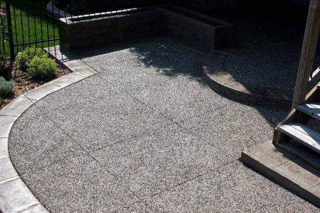 40 best images about diy landscape ideas on pinterest for Exposed concrete floor
