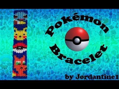 New Pokemon Go Bracelet Rainbow / Alpha Loom Squirtle Pikachu PokeBall Charizard…