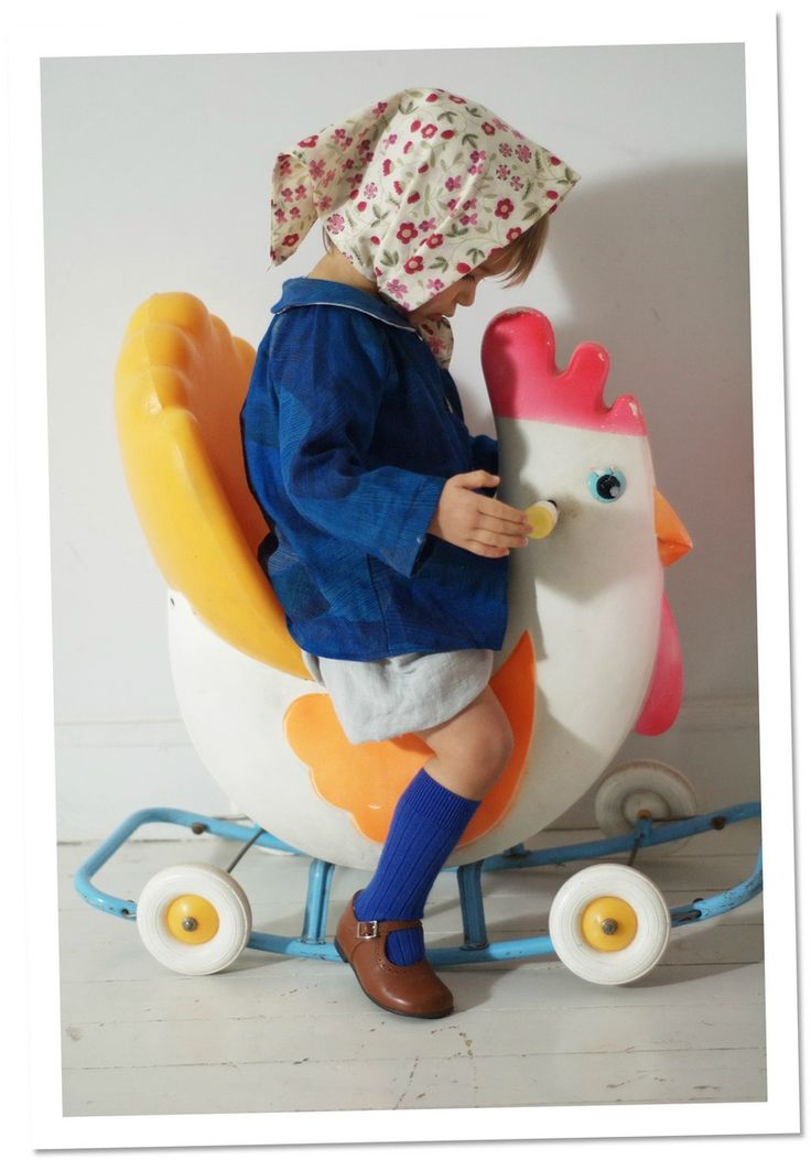 Vintage Chicken Bike - from Madame Chacha bog January 2015
