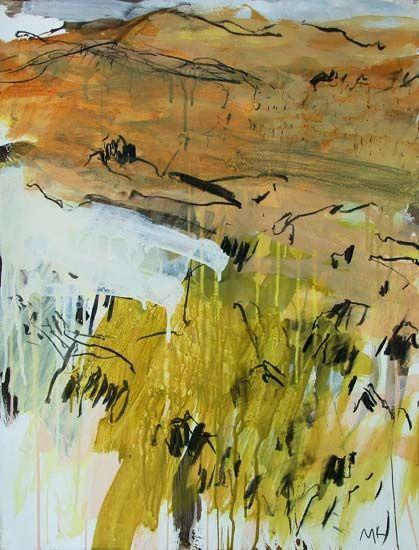 Featuring artwork by © Mitchell Kelly - Tasman Peninsula Field Study IV | Anthea Polson Art Gallery Gold Coast QLD