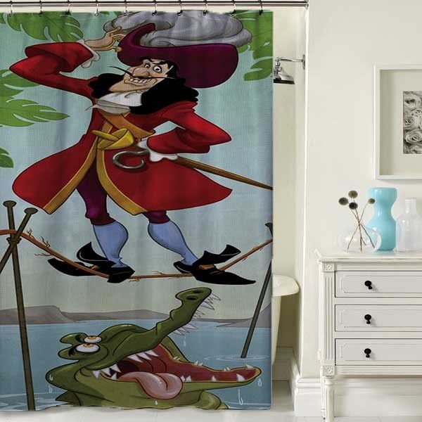 Captain Hook haunted Mantion Custom Shower Curtain Waterproof High Quality 60x72 #Unbranded #Modern #Cheap #New #Best #Seller #Design #Custom #Gift #Birthday #Anniversary #Friend #Graduation #Family #Hot #Limited #Elegant #Luxury #Sport #Special #Hot #Rare #Cool #Top #Famous #Shower #Curtain