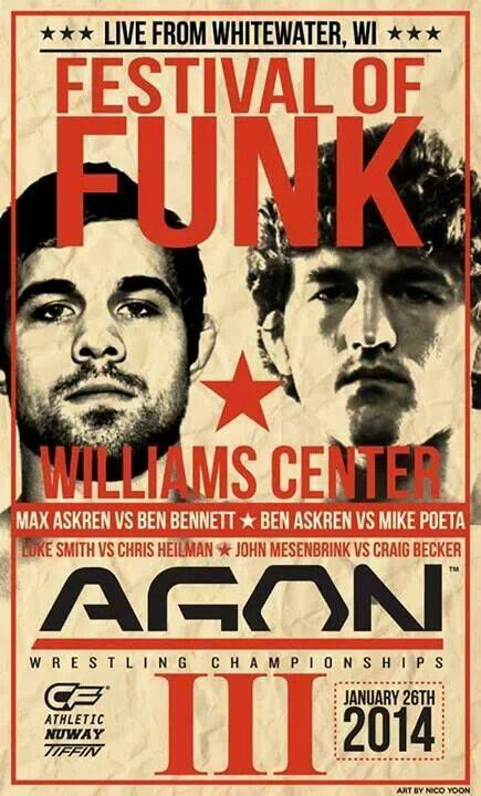 No Holds Barred: Ben Askren on Agon 3, ONE FC, Wrestling, and MMA http://nhbnews.podomatic.com/entry/2014-01-18T14_38_14-08_00
