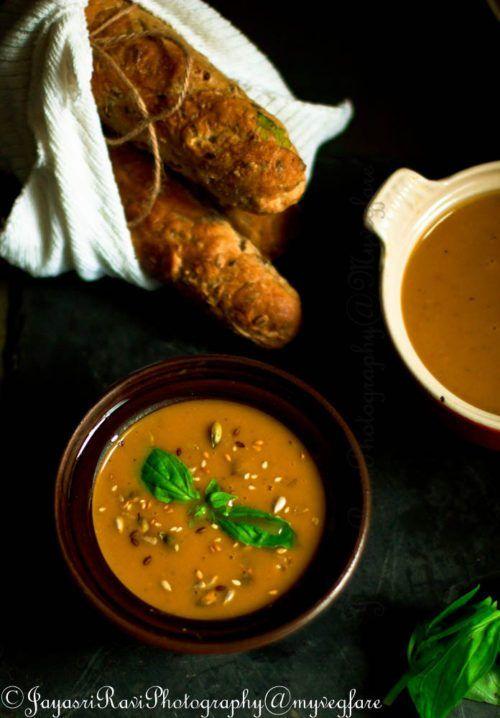 Butter Nut Squash Soup #vegan #Glutenfree