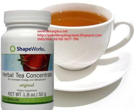 Herbal Tea Concentrate Herbalife Pembakar Lemak