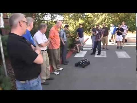 Drone workshop helps educators unlock practical science for students - YouTube