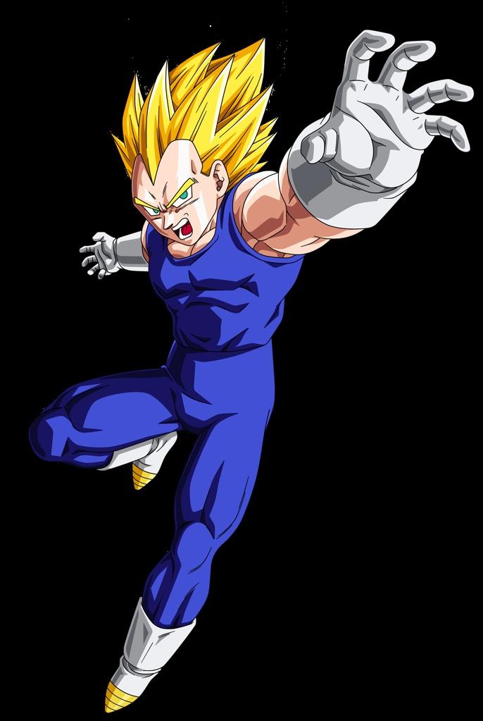 Super Saiyajin - Dragon Ball Wiki, Vegeta SSJ jpng.png
