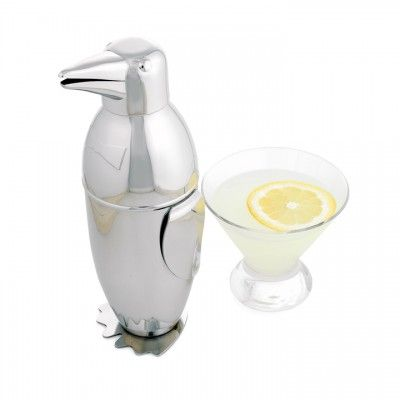 Penguin Martini Shaker   On sale and Free Shipping  www.selecthomeaccents.com, $44.99 Cdn