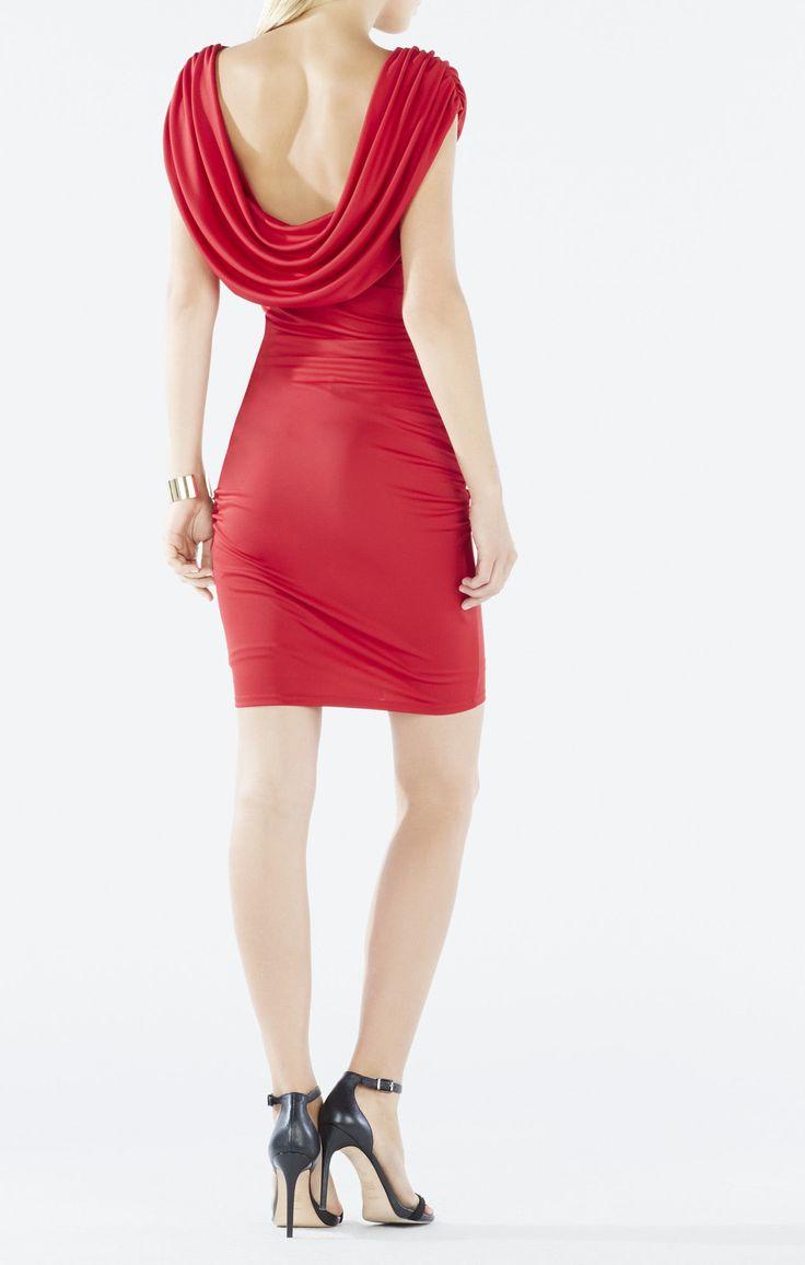 Kylia Cowl-Back Dress