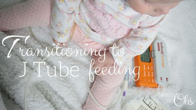 """I never thought I'd be happy about Maddison being hooked up to her pump 24/7 If you would have asked me a couple months ago my thoughts on switching Maddison from bolus g-tube feeding to continuous j-tube feeding my answer would have been, """"no way Jose!"""" Maddison hooked up to her feed pump all day… Continue reading Transitioning to J-Tube Feeding"""