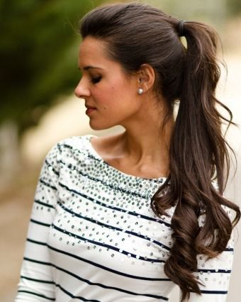 These pretty hairstyles won't take you longer than 10 minutes--perfect for the chica on the go!