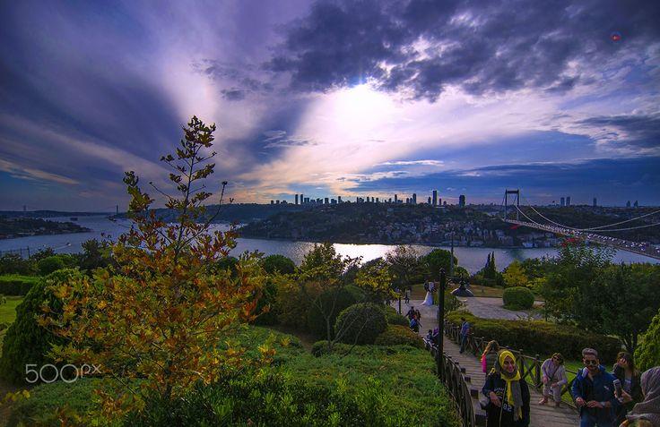 İstanbul, Türkiye by Mehmet Çoban - Photo 175611359 / 500px.  #landscape #city #water #mc145 #türkiye #i̇stanbul #pentaxk-3ii