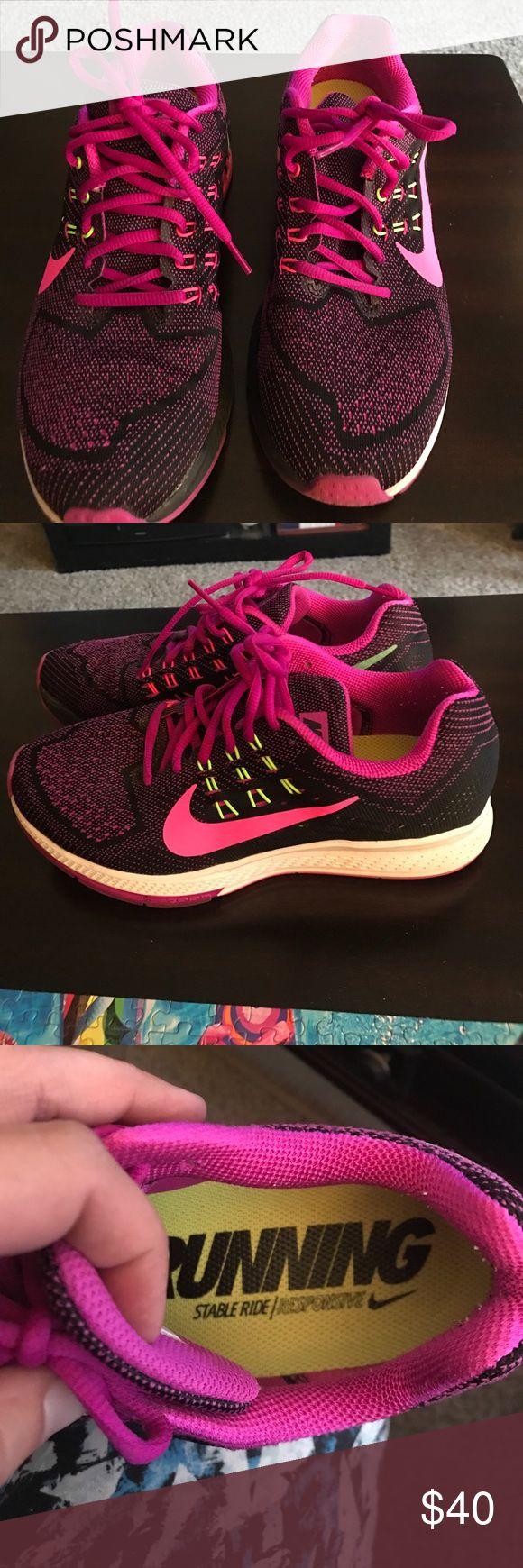 Nike running stride ladies running shoe Ladies Nike running stable ride gym shoe.  Worn 2 times. Ladies size 8.5 Nike Shoes Athletic Shoes